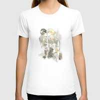 volleyball T-shirts featuring volleyball kiss by Puckboum