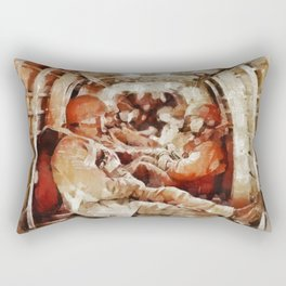 Paratroopers, World War Two Rectangular Pillow