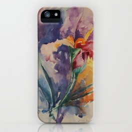 Lirio iPhone Case