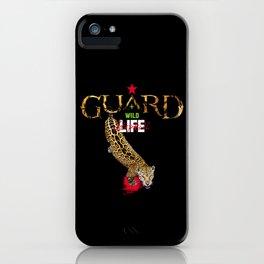 EARTH+LIFE GUARD iPhone Case