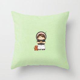 The Piemaker Throw Pillow