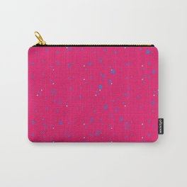 simple geometric pixel pattern 2 mb Carry-All Pouch