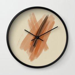 cinnamon mocha Wall Clock