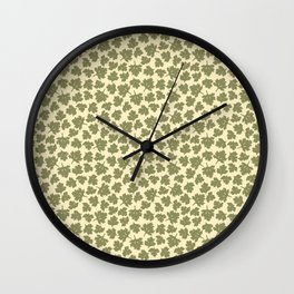 Foliage - English Meadow Collection Wall Clock
