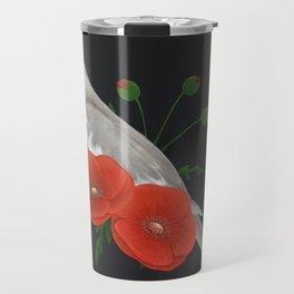 Light Grey/Cinnamon Cockatiel Travel Mug