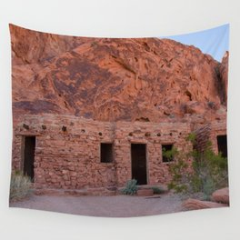 CCC Cabins-1, Valley of Fire State Park, Nevada Wall Tapestry