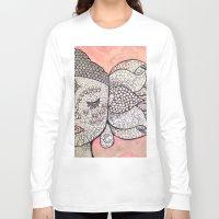 zen Long Sleeve T-shirts featuring Zen by Hallie McIntyre