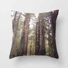 REDWOOD BEAUTY Throw Pillow