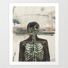 Naked Stare  Art Print
