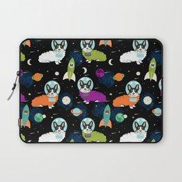 Corgi astronaut tri colored corgi space cadet outer space dog breed corgis Laptop Sleeve