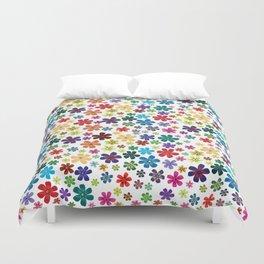 Flowers - Flowers Duvet Cover