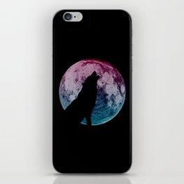 Wolf & Moon iPhone Skin