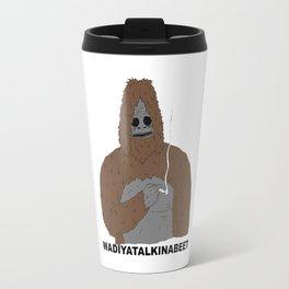 Sassy Gorilla smoking Travel Mug