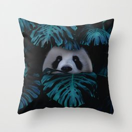 don't hide behind your doubts. Throw Pillow