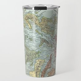 Vintage Map of The Philippines (1898) Travel Mug