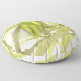 Abstract foliage Floor Pillow