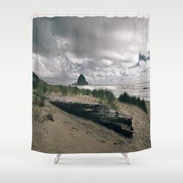 Cannon Beach IV Shower Curtain