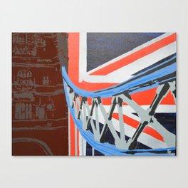 London Bridge is... Canvas Print
