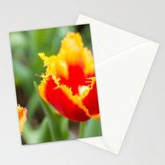 Fringed tulips Stationery Cards