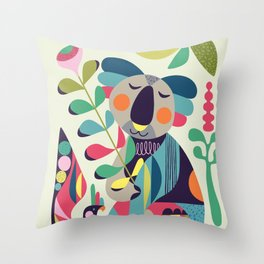 Koala Throw Pillows For Any Room Or Decor Style Society6