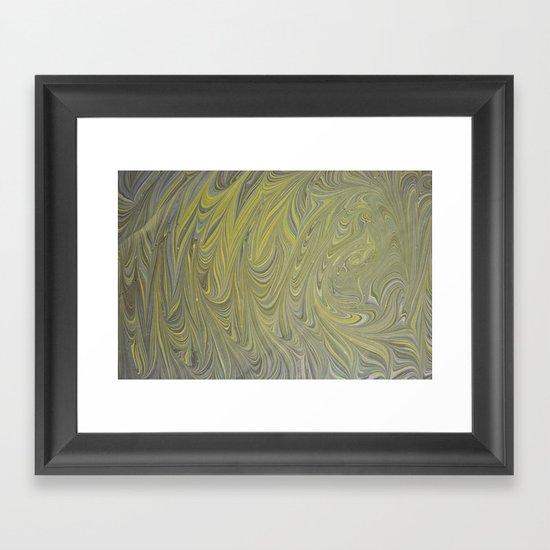 Marble Print #8 Framed Art Print