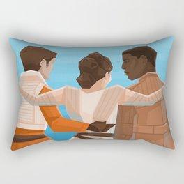Happy Trio Rectangular Pillow