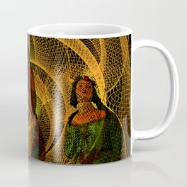 The three figureheads Coffee Mug