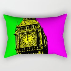 Big Ben - In all her coloured glory... Rectangular Pillow