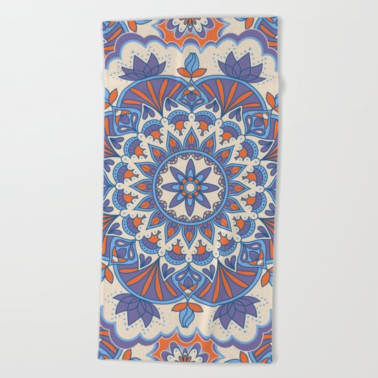 Mandala 59 Beach Towel