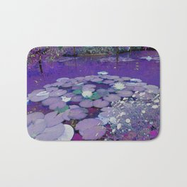 Purple Lake Dreaming Bath Mat