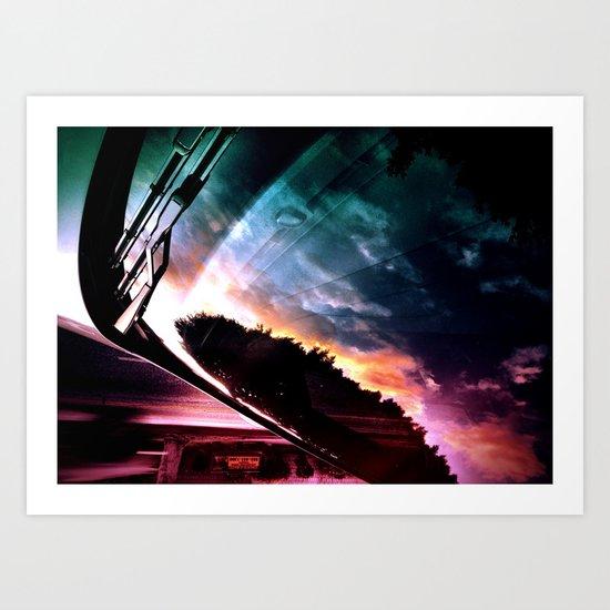 Inverted Horizon Art Print