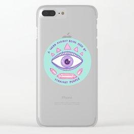 ward Clear iPhone Case