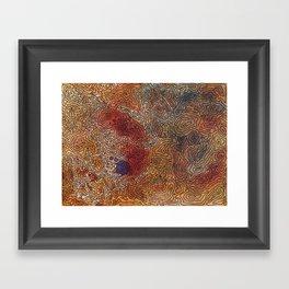 The Mojave Framed Art Print
