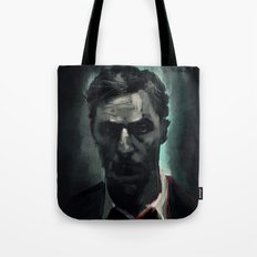 Rust Cohle Tote Bag