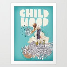 Childhood Art Print