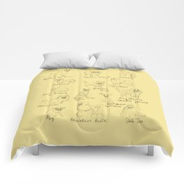 Dog Typology Comforters