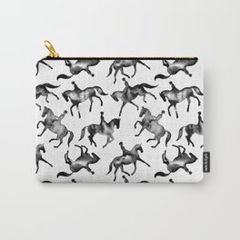 Dressage Horse Silhouettes Carry-All Pouch
