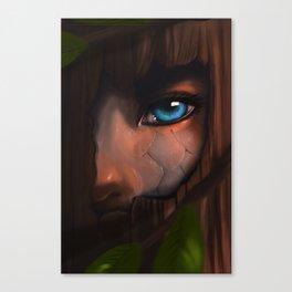 Nymph Eye Canvas Print