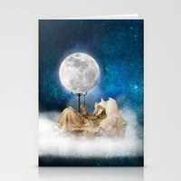 sandman Stationery Cards featuring Good Night Moon by Diogo Verissimo