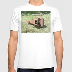 Link to A Bygone Era White MEDIUM Mens Fitted Tee