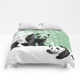 Panda print Comforters