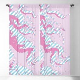 Rebirth of Venus - Pink & Cyan - Trans Pride! - Window Curtain (Right) Blackout Curtain