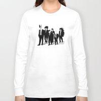 reservoir dogs Long Sleeve T-shirts featuring Reservoir Enemies by ddjvigo