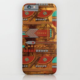 Mohave Native American Art iPhone Case