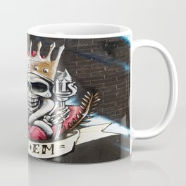 Las Vegas Skull Graffiti Coffee Mug
