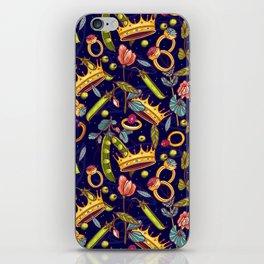 Princess and the Pea. iPhone Skin