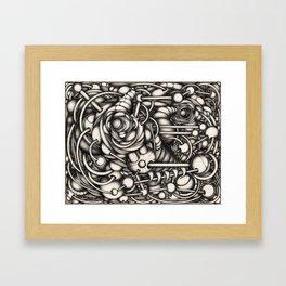 HeadAche_2 Framed Art Print