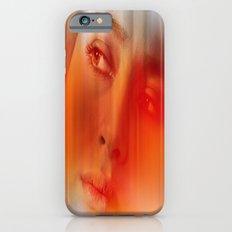 Orange portrait  Slim Case iPhone 6s