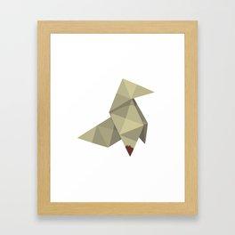 Origami Killer Framed Art Print