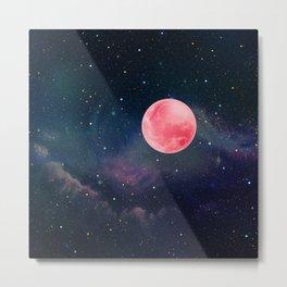Pink Moon Metal Print